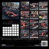 Image de Ferrari F1 2016 Square Calendar