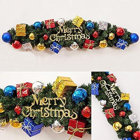 Claw vid carta de Navidad Navidad Ornamento de Navidad,90cm