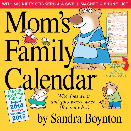 Mom\'s Family Calendar [With Sticker(s) and Magnetic Board]