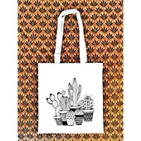 Tote bag Cactus - cotone ecologico - Regalo per donna - regali per lei - Natale - Prime