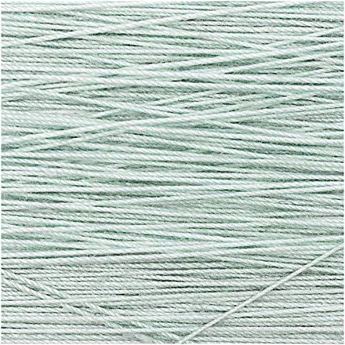 Rico Design 5g Spitzengarn - Farbe: 007 - hellgrün - Häkelgarn für Taschentücher