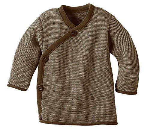 Disana 32505XX - Melange-Jacke Wolle haselnuß, Size / Größe:86/92 (1-2 Jahre) - 1 Haselnuss