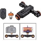 Andoer L4 PRO motorizzato Camera Dolly con Telecomando wireless 3 velocità regolabile Slider pista elettrica / 1800mAh batter