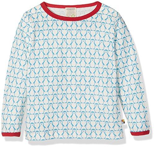 loud + proud Unisex Baby Shirt mit Wolle Sweatshirt, Türkis (Aqua Aq), 92 (Herstellergröße: 86/92) Aqua-sweatshirt