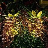 Yiwa 1PC Bande d'ananas décorative Suspendue de Forme d'ananas pour l'éclairage de...