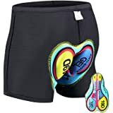 HTTOAR Cycling Shorts for Men, Cycling Underwear with 3D Gel Padding, MTB/Mountain bike/Road Bikes Shorts, Breathable Quick-d
