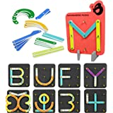 ButterflyEduFields Alphabet Puzzles for Kids 3 Years Boys Girls   ABCD Blocks for Kids   Learning Educational Numbers Shapes