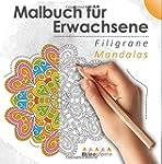 Malbuch für Erwachsene: Filigrane Man...