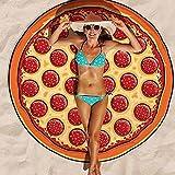 Asenart ® Mandala Strandtuch Druck Strand Handtuch Tapisserie Chiffon Tischdecke, Sofa Abdeckung, Vorhänge Picknick Decke Schal Pizza Runde