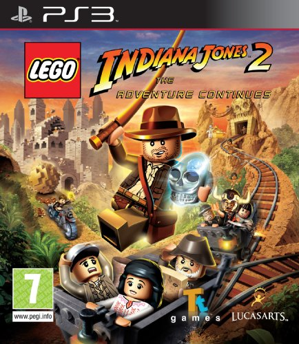 Lego Indiana Jones 2: The Adventure Continues [UK Import] - Xbox Lego Jones Indiana