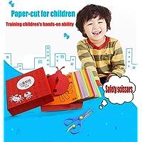 MAKFORT Kit Activités Manuelles Enfants Loisir Creatif Découpage Enfant