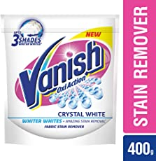 Vanish White Oxi Action Stain Remover Washing Powder - 400 g