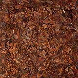 PALIGO Pinienmulch Pinienrinde Rindenmulch Pinie Mulch Garten Dekor Pinus Pinea Natur Mittelmeer Kiefer Mittel 15-25mm 70l x 2 Sack (140l / 1 Karton)