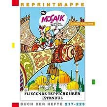 Reprintmappe des Mosaik von Hannes Hegen: Buch der Hefte 217 bis 223  und eine DVD (Ritter Runkels grosse Stunde /Freilichtbühne Bautzen)
