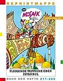 Reprintmappe des Mosaik von Hannes Hegen: Buch der Hefte 217 bis 223 und eine DVD (Ritter Runkels grosse Stunde/Freilichtbühne Bautzen)