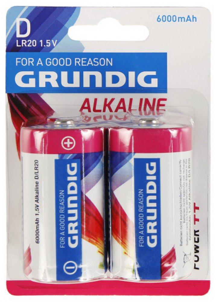 Speel Goed 51673–Batteria alcalina D Grundig, altri Spielwaren