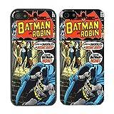 DC Marvel Comic Book Coque pour Apple-N ° 3, Batman & Robin - 878 - Black, iPhone 5C