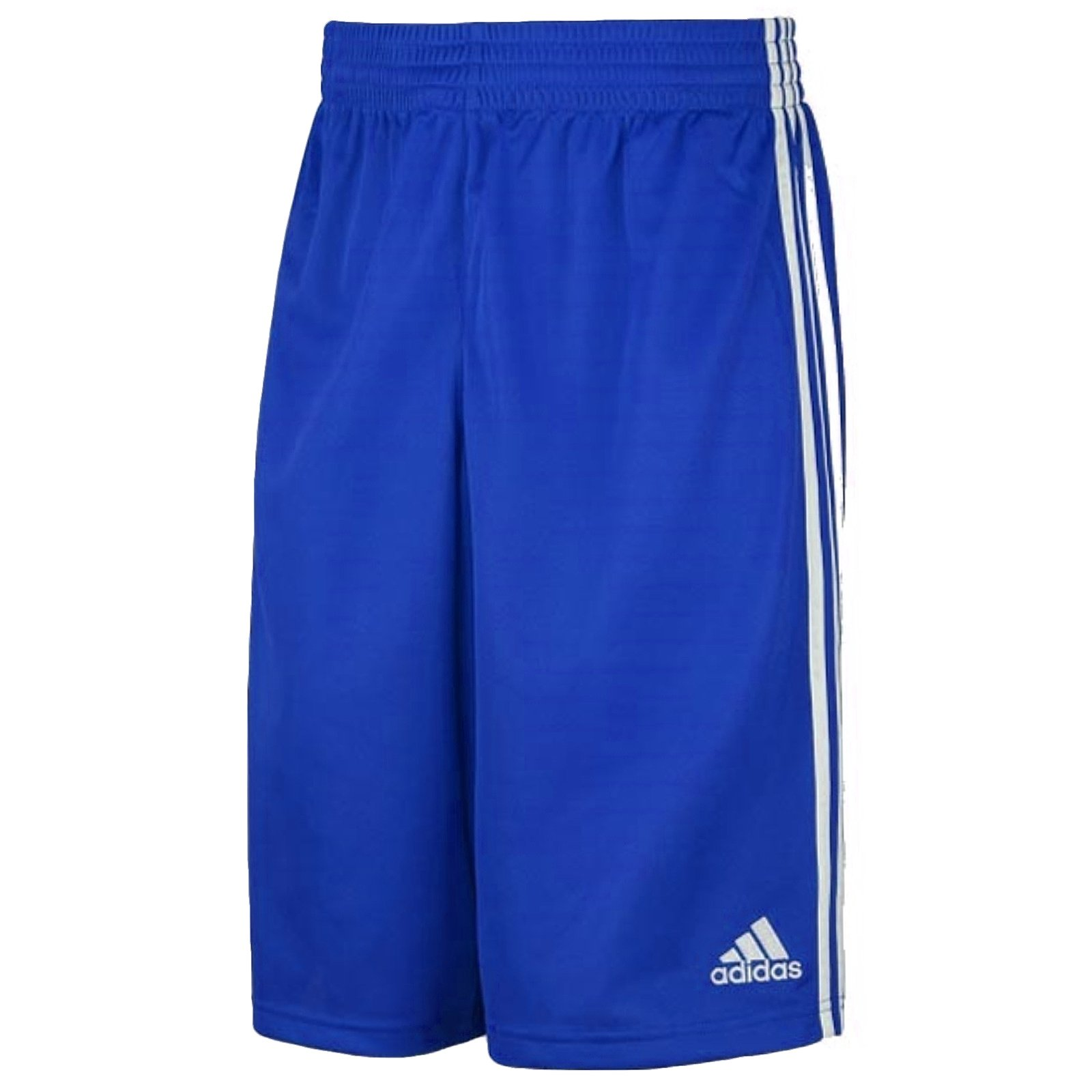 Adidas G7663715 Pantaloncini da Basket da Giovani, blu / bianco, 128