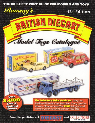 Ramsay's British Diecast Model Toys Catalogue (13th Edt)