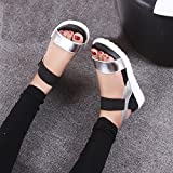 Clearance Sale!Womens Flat Sandal OverDose Summer Shoes Peep-toe Low Shoes Roman Sandals Ladies Flip Flops (38 EU)
