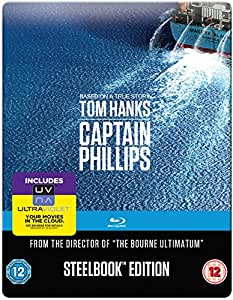 Captain Phillips - Limited Edition Steelbook [Blu-ray] [2013]