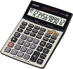 Casio DJ-220D Plus Desktop Calculator (Silver and Black)