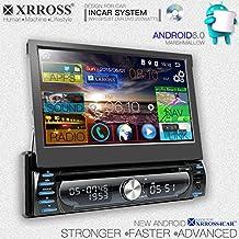 XRROSS Reproductor de Audio + Navegador GPS + 7inch Pantalla Táctil + WIFI + Bluetooth + 1GB / 16GB + Quad Core CPU + DVR + SWC + Teléfono Mirror + Full Motorize Desmontable Panel + Dual Camera Support