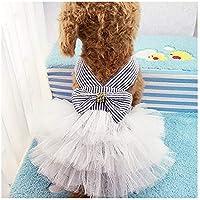 Famhome Vestido de Primavera para Perro, de Verano, Bonito Vestido de Verano para Cachorro, Perro, Mascota, Falda para Perros, Vestidos de Princesa, Abrigo para Mascota, Disfraz