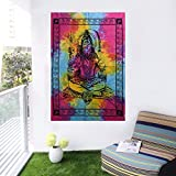 Yoga Multi-Color Lord Shiva Wall Hanging Poster Home Decor, Wall Decor, Posters For Boys Room / Wall / Girls Room