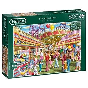 Falcon de Luxe Fun at The Fair 500 XL Puzzle - Rompecabezas (Puzzle Rompecabezas, Gente, Niños y Adultos, 12 año(s), Interior