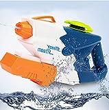 Sunshine D Wasserpistole Freeze Pump up Wasserpistole Water Blaster Gun für Kinder und Erwachsene Outdoor Beach Pool Wasser Kampf, große Kapazität, Lange Reichweite (Blau)
