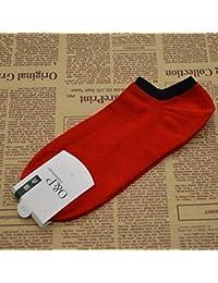 ZHUDJ Tubo Corto Invierno Calcetines Calcetines Calcetines De Algodón Hombres Marea Calcetines Calcetines Barco Fina Cintura