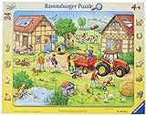 Ravensburger Rahmenpuzzle 06582 Mein Kleiner Bauernhof Puzzle