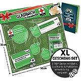 Liga-Apotheke für Gladbach-Fans| Saison-Notfall-Set zum Überraschen & Verschenken witzig verpackt, mit Schadenfreude gratis & Spaßgarantie inklusive