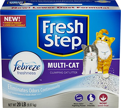 fresh-step-multi-cat-with-febreze-scented-scoopable-cat-litter-20-pounds-by-fresh-step