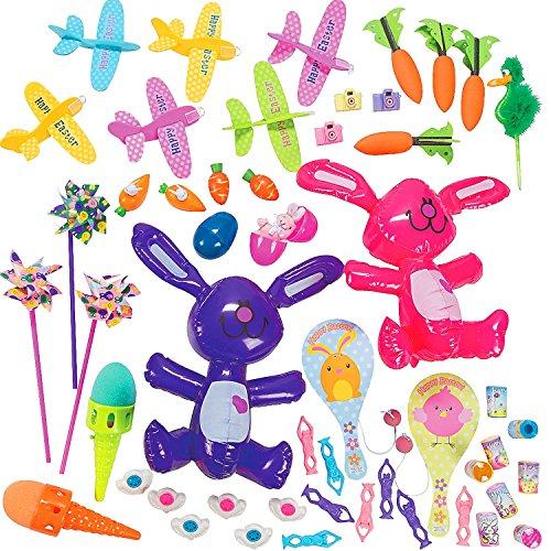 - 12 x Oster Korb Spielzeug - Mix┃ Kinder Oster Spielzeug - Mix zum Verstecken (Oster-spielzeug Für Kinder)