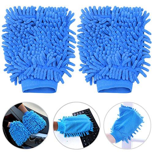 TRIXES-Guanti-imbottiti-in-microfibra-di-colore-blu-per-la-pulizia-dellauto-antistatici-elimina-polvere