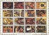 Prophila Collection Ajman 2797A-2812A Kleinbogen (kompl.Ausg.) 1973 Religiöse Gemälde (Briefmarken für Sammler) Religion