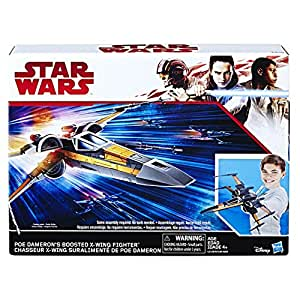 Hasbro Star Wars The Last Jedi Poe's Boosted X-Wing Fighter (283mm)
