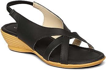 PARAGON SOLEA Plus Women's Black Sandals