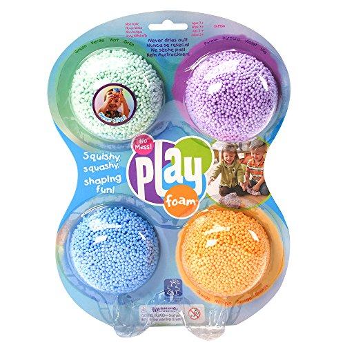 Learning Resources Original-Spielknete Playfoam, Starterset (4-teilig)