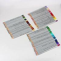 72-Color professionale di alta qualità arte disegno matite/matite colorate per disegno, Set di 72Colori Assortiti (Confezione da 2) - Deluxe Pencil Case