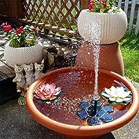 Bomba de agua solar, 1.4W tipo de hielo flotante al aire libre, pequeña bomba sumergible, sin escobillas, fuente solar, DC, jardín, jardín, estanque para estanques.