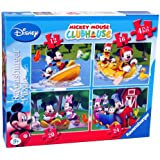 Ravensburger Mickey Mouse Clubhouse (Pack of 4)