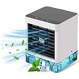 Climatiseur Portable,Ventilateur de Climatiseur Mobile 500 ml, Ventilateur de Portable3-en-1,humidificateur d'air, 3 Vitesses