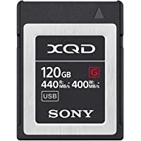 Sony QDG120F-R XQD-Speicherkarte (120 GB, G Serie)