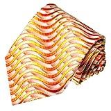 Lorenzo Cana - Luxus Designer Krawatte aus 100% Seide - hochwertige handgefertigte Seidenkrawatte - 84201