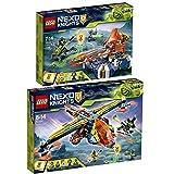 LEGO Nexo Knights 2er Set 72001 72005 Lances schwebender Cruiser + Aarons Armbrust