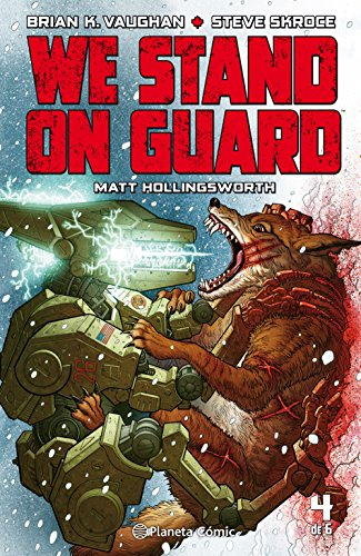 We Stand on Guard nº 04/06 por Brian K.%Vaughan