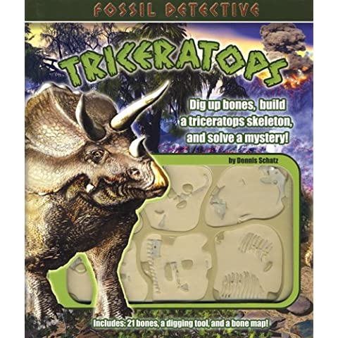 Fossil Detective Triceratops
